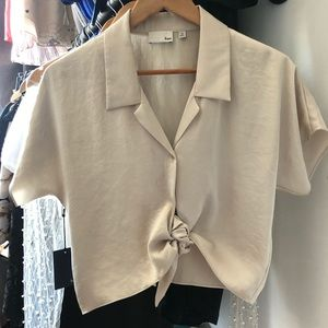 Wilfred Free Tie Blouse